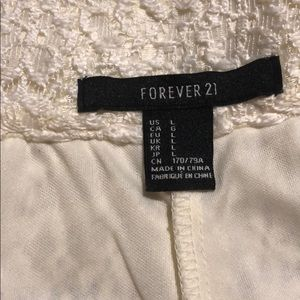 Forever 21 Shorts - White shorts, perfect for summer!